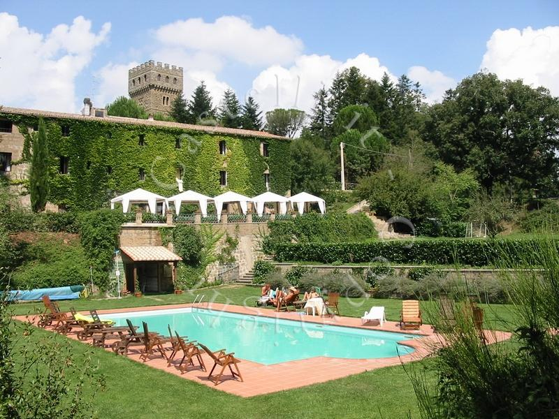 Matrimoni Bassano Romano : Castelli torri dimore storiche a viterbo